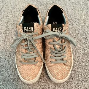 P448 Thea Metallic Sneakers
